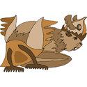 Stylized Beaver