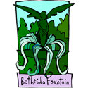 Bethesda Fountain T-shirt, Bethesda Fountain Gifts