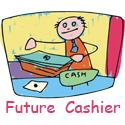 Cashier T-shirt, Cashier T-shirts