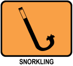 Snorkling (orange)