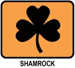 Shamrock (orange)