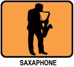 Saxaphone (orange)