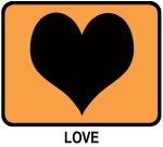 Love (orange)