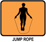 Jump Rope (orange)