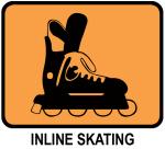 Inline Skating  (orange)