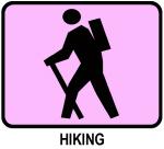Hiking (pink)