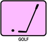 Golf (pink)