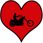 I heart Motocycle Riding