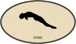 Womens Diving (euro-brown)