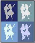Dancers (blue boxes)