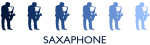 Saxaphone (blue variation)