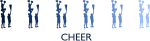Cheer (blue variation)