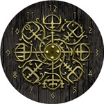 Nordic Guidance - Viking Compass Clock