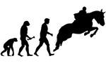 Male Horseback Rider Evolution
