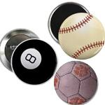 buttons and magnets - sports