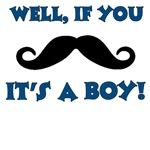 Mustache It's a Boy