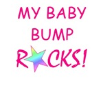 My baby bump rocks