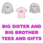BIG SISTER AND BIG BROTHER T-SHIRTS AND GIFTS