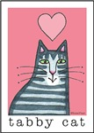 I HEART TABBY CATS