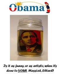 Pissed Obama