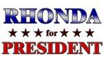 RHONDA for president