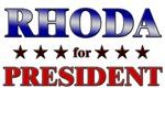RHODA for president