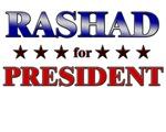 RASHAD for president