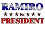 RAMIRO for president