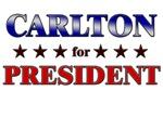 CARLTON for president