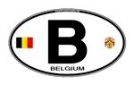 Belgium Euro Oval