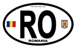 Romania Country Oval