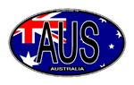 Australia Oval Colors