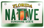 Florida License Plate [NATIVE]