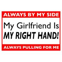 My Girlfriend Is My Right Hand