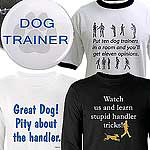 Handler / Trainer golf shirt, long and short tee .