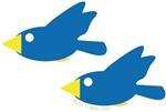 Twin Parent Birds