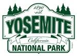 Yosemite National Park Green Mountain Sign Design