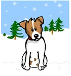 Jack Russell - Snow