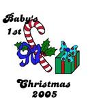 BABY'S FIRST CHRISTMAS 2O05