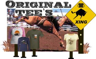 Famous Buffalo Back T-Shirts