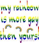 More Gay Rainbow Design