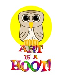<b>ART  IS A HOOT</b>