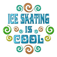 <b>ICE SKATING IS COOL</b>