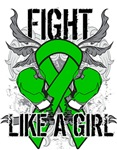 Kidney Cancer Ultra Fight Like A Girl Shirts