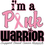 Pink Warrior Breast Cancer T-Shirts & Gifts