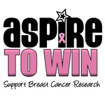Aspire To Win Breast Cancer T-Shirts & Gifts