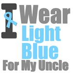 I Wear Light Blue For My Uncle T-Shirts & Gifts