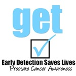 Get Checked Prostate Cancer T-Shirts