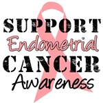 Support Endometrial Cancer Awareness T-Shirts