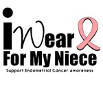 Endometrial Cancer (Niece) T-Shirts